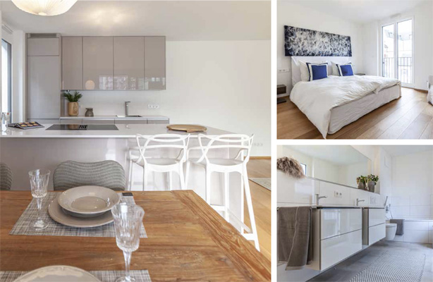 Impressions of our model flat